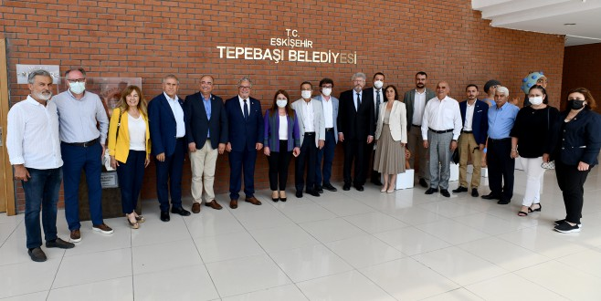 CHP GENEL BAŞKAN YARDIMCILARI TEPEBAŞI'NDA